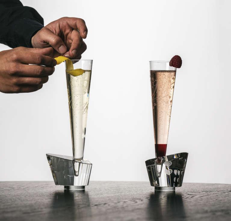 Schweizer Designerin kreiert Gläser für Harry & Meghan